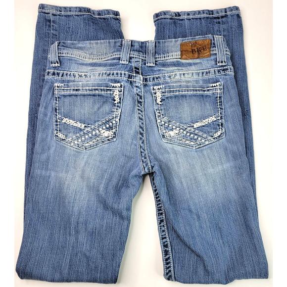 BKE Denim Jeans 28 Payton Bootcut Medium Blue